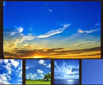 langit berwarna biru, kenapa langit berwarna biru, langit biru