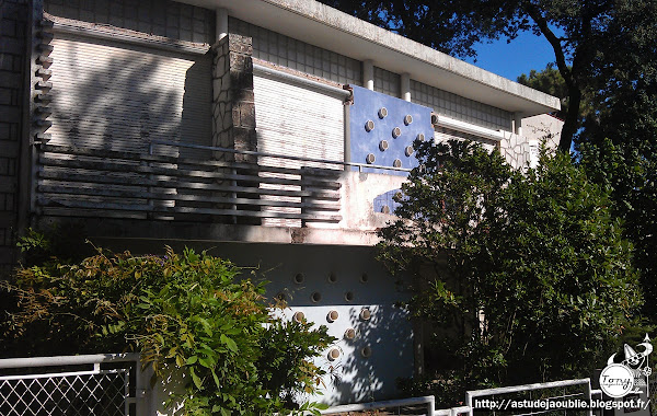 Royan - Villa mitoyenne  Architecte: R. Barre  Construction: 1957