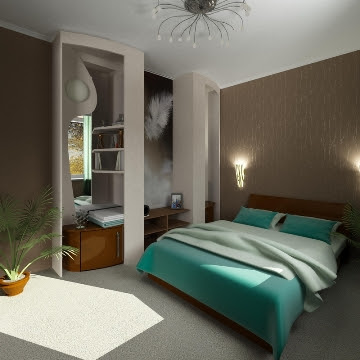 Home Decoration Design: Bedroom Decorating Ideas with Complete Design
