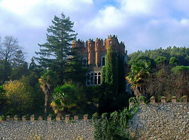 Castillo de Ocharan en Castro Urdiales