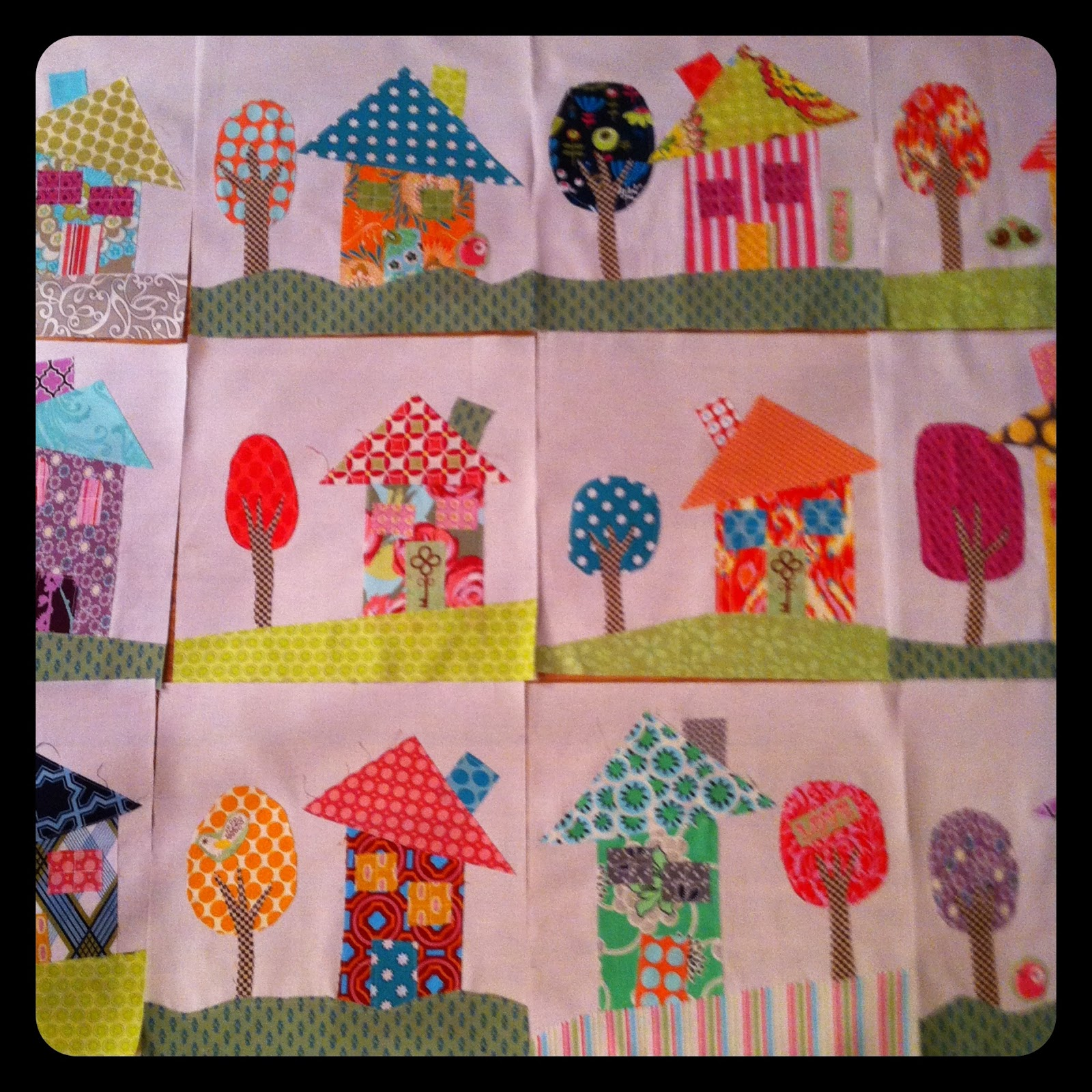 Material girls quilts wonky house block swap for House pattern