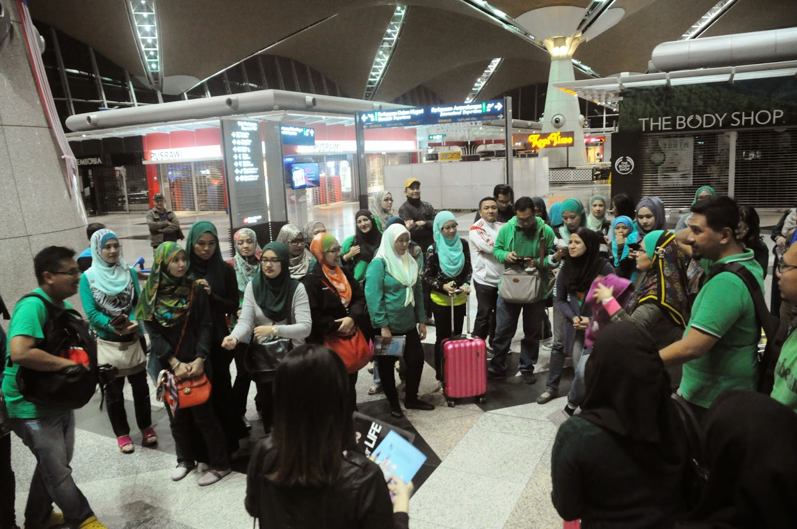 glampreneurs at KLIA Sepang