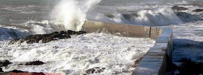 Photo pour couverture facebook mer agitée