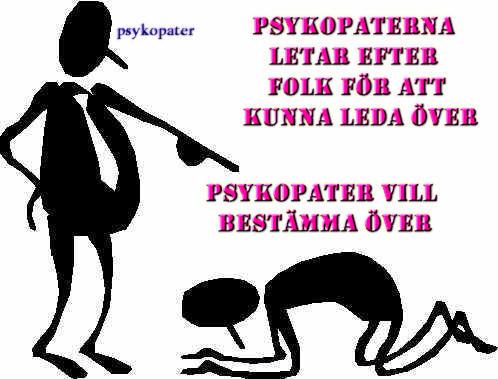 psykopat symptom