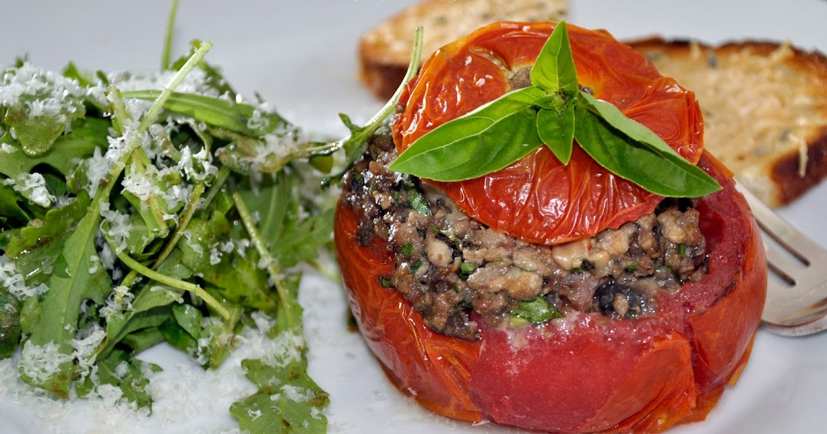 My Carolina Kitchen Stuffed Tomatoes French Style Tomates Farcies And Proven Ale