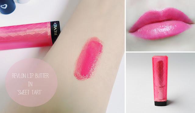 revlon lip butter bubu # 9 beauty uk lipstick jack wills lip gloss blogger liz breygel review swatches