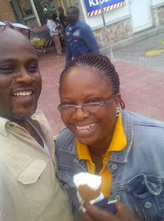 flavian okojie and wife
