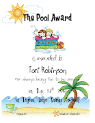. of the awards that I give my firsties at our end of the year recognition .