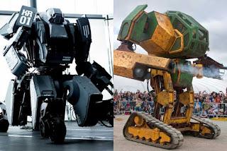 La lucha de robots gigantes, mark II vs kuratas