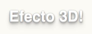 Texto 3D