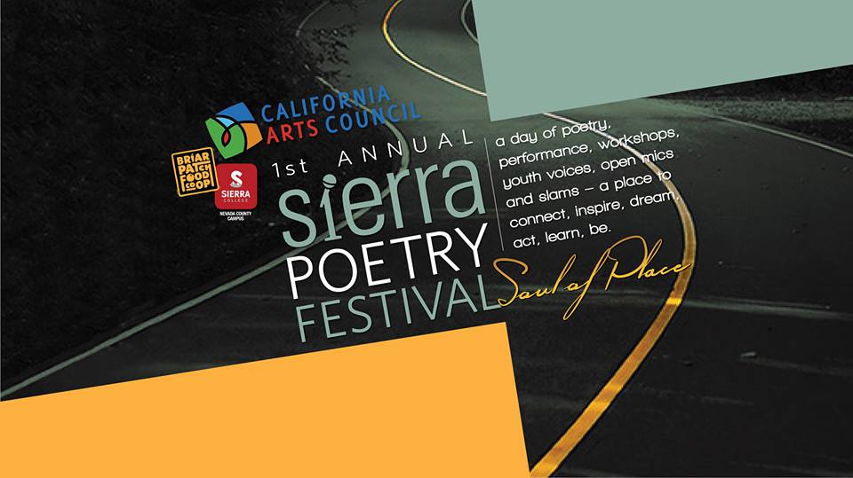 SIERRA POETRY FESTIVAL in Grass Valley Sat. (4/1)