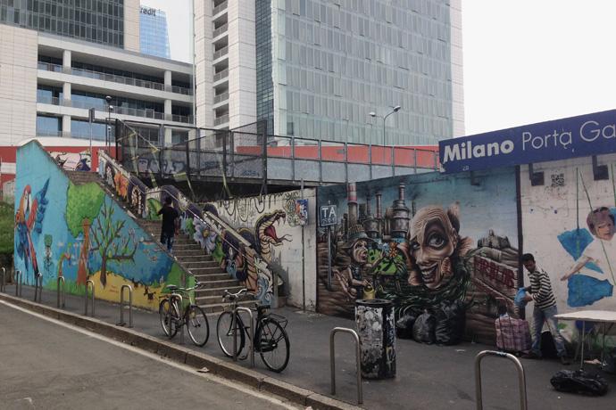 Tra sogni e realta 39 qui i murales sono di casa for Ristorante murales milano