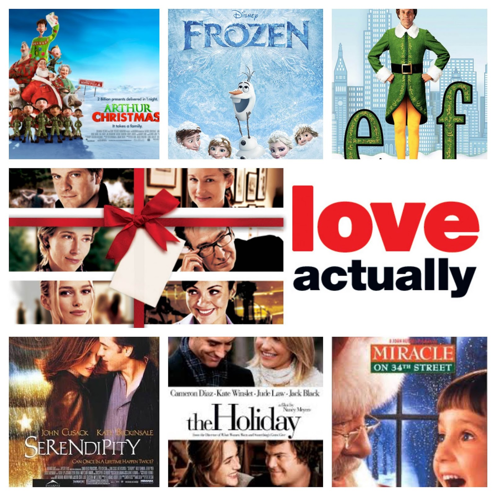 My Favourite 7 Christmas Films | Adele Louise Smith