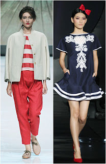 Foto Trend Baju Fashion 2014 Tema Nautical