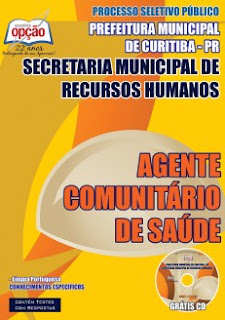 Apostila concurso Prefeitura de Curitiba ACS e ACE 2015.