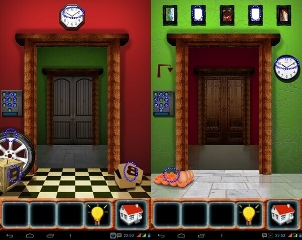 100 Doors Classic Escape Guide Level 43 44