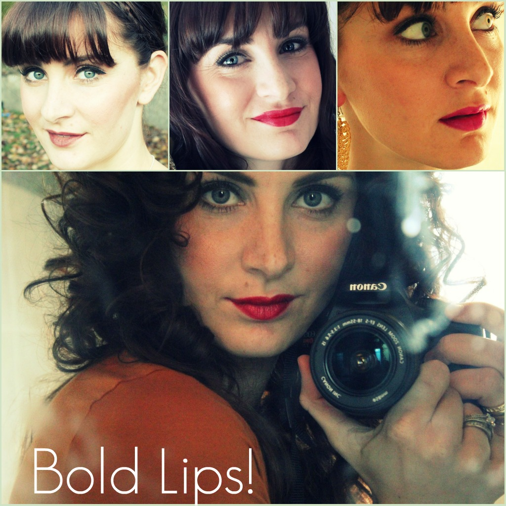 How to wear bold lip colors