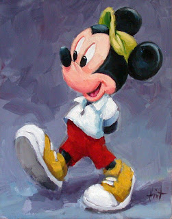 Mickey Mouse by Liza Hirst