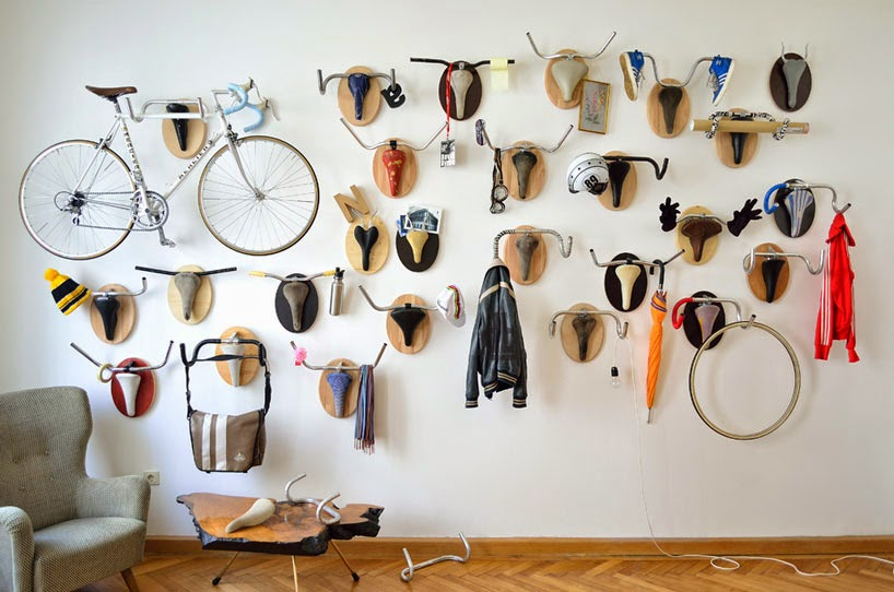 The Art Of Up Cycling Upcycled Bike Parts Cool Stuff