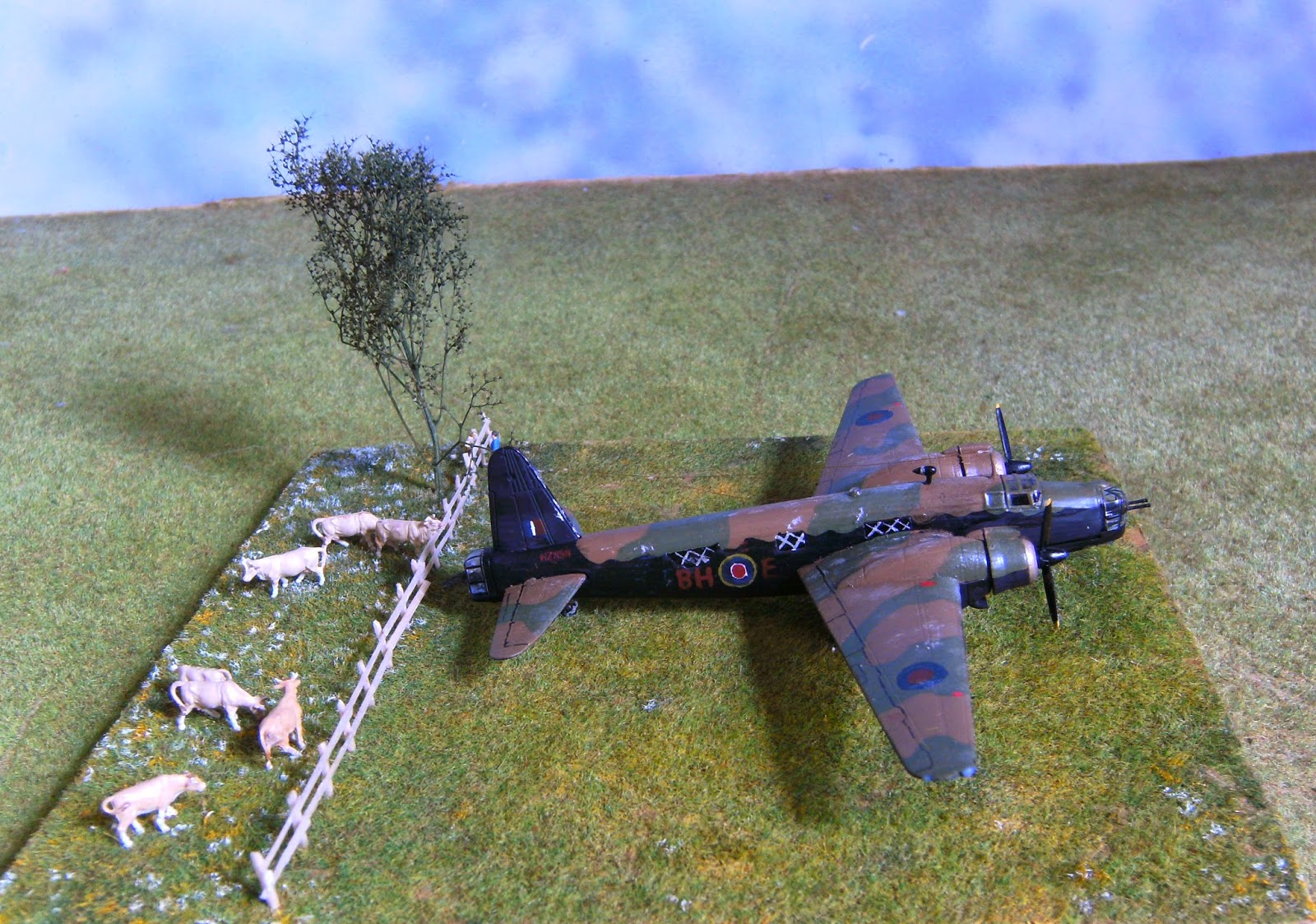 Vickers wellington mk iii polish 300 sqdn 1 144