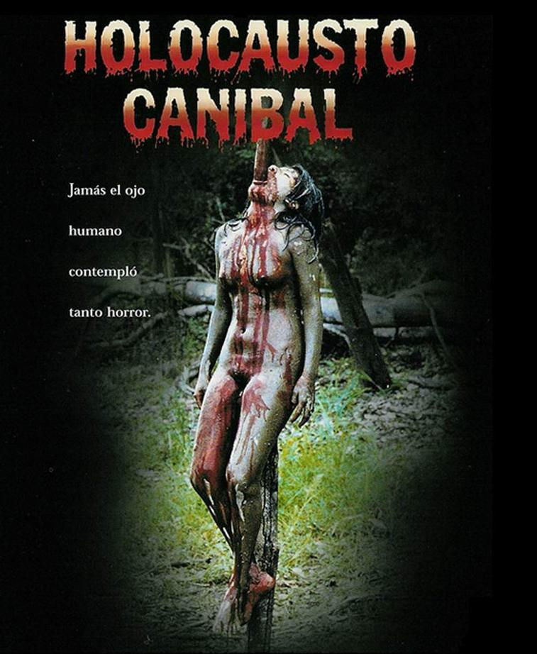 Cartel de 'Holocausto_Caníbal (1980), de Ruggero Deodato. Making Of cine