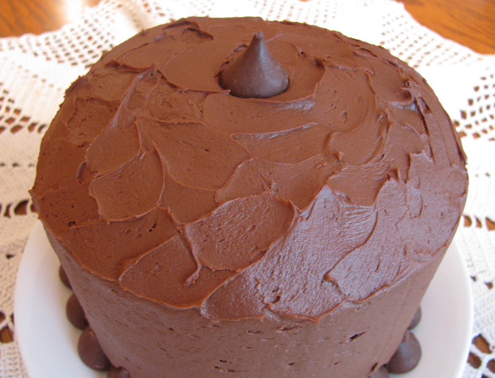 brown buttercream icing