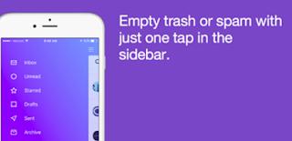 Vaciar correo basura e imprimir mensajes [Nueva App Yahoo]