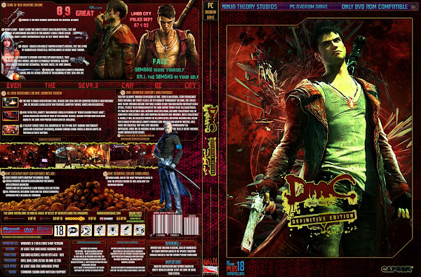 Capa Devil May Cry Definitive Edition PC
