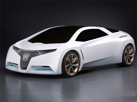Sport Cars on Honda Fc Sport Design Study Suggests Hydrogen Sports Car Future
