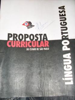 PROPOSTA CURRICULAR DE LÍNGUA PORTUGUESA