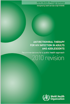 AntiretrovirAl therApy   for hiv infection in Adults   And Adolescents