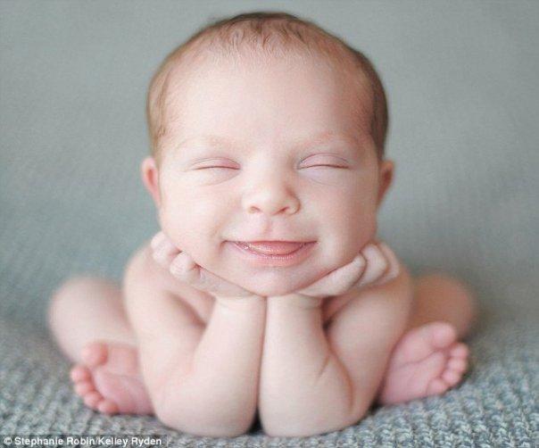 Sevimli bebek