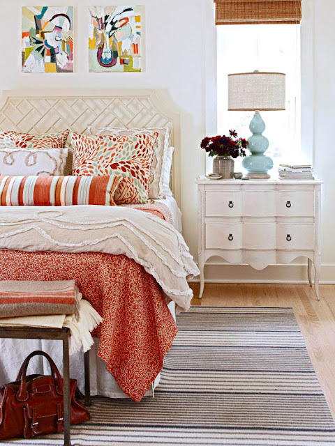 colors or prefer a soothing scheme of neutrals for your bedroom find