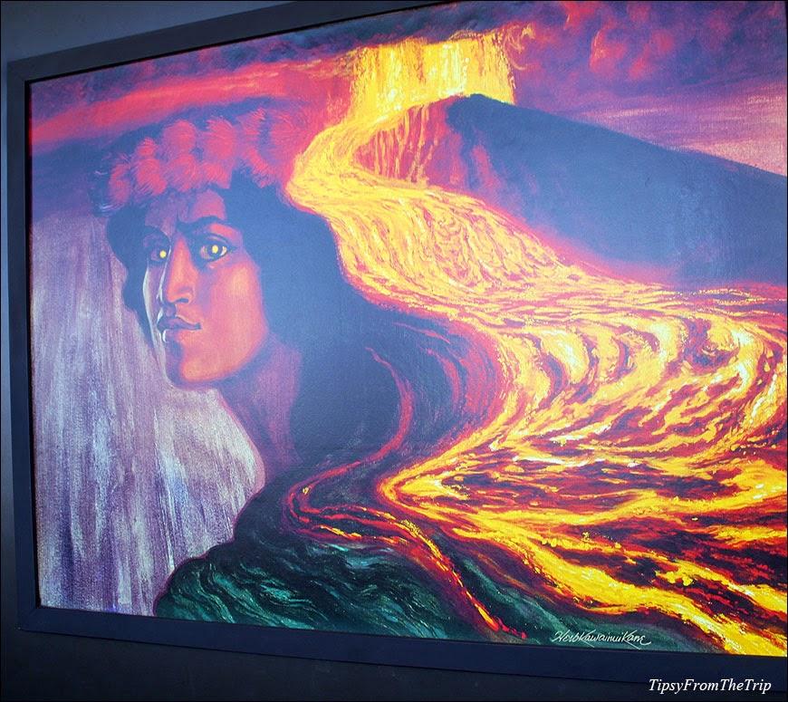 Volcano Goddess - Pele
