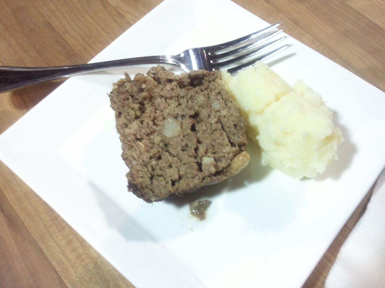 venison meatloaf with buttermilk mashed potatoes