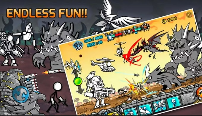 Download Game Cartoon Wars