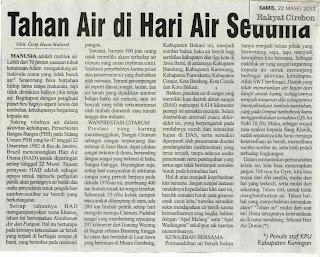 tahan air, cecep husni mubarok, Rakyat Cirebon
