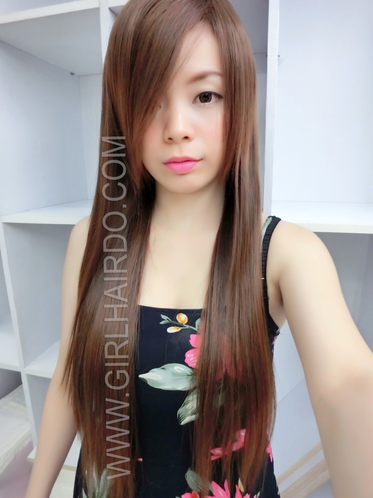 7623 LIGHT BROWN VERY BEAUTIFUL LONG STRAIGHT WIG NON