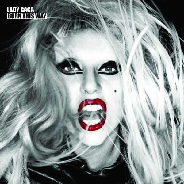 lady gaga born this way cd label. Gaga announced the album early