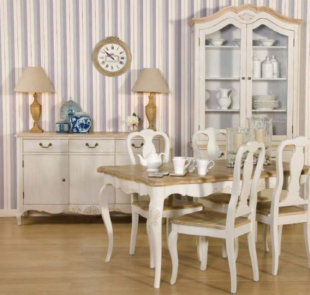 ... France. The provincial colors and furniture styles are quite chic and