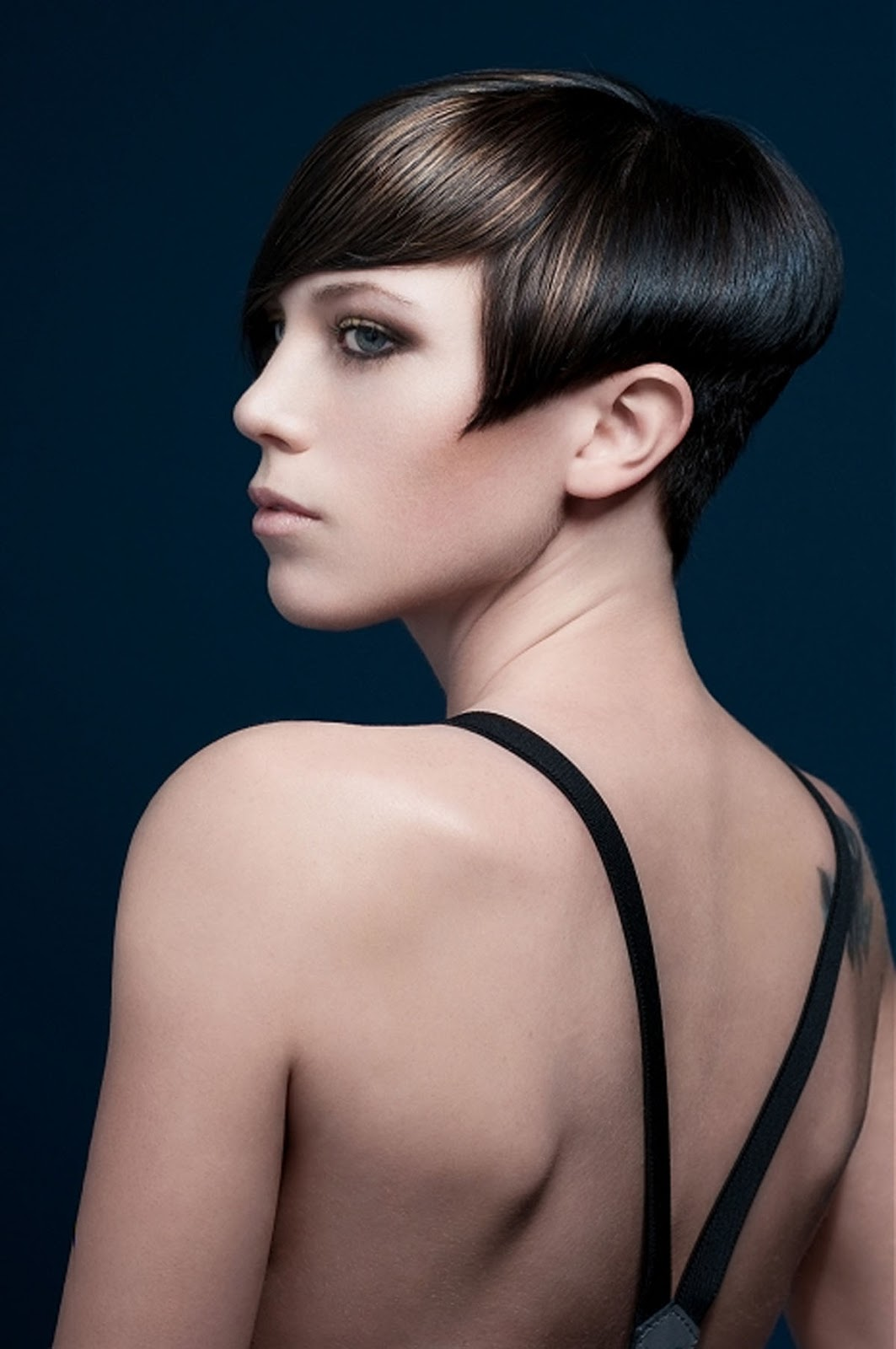 Hairstyle For Short Hair On Jeans : Love Clothing: Too Cool For School - Short Hair For Girls