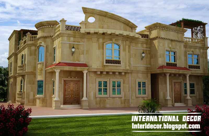 Exterior villa joy studio design gallery best design for Classic villa exterior design