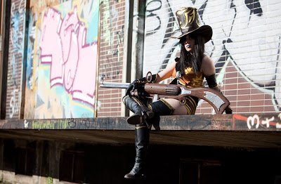 Wild West Sheriff Caitlyn Cosplay