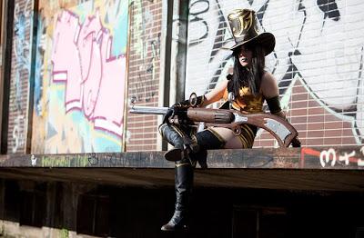 Wild West Sheriff Caitlyn Cosplay