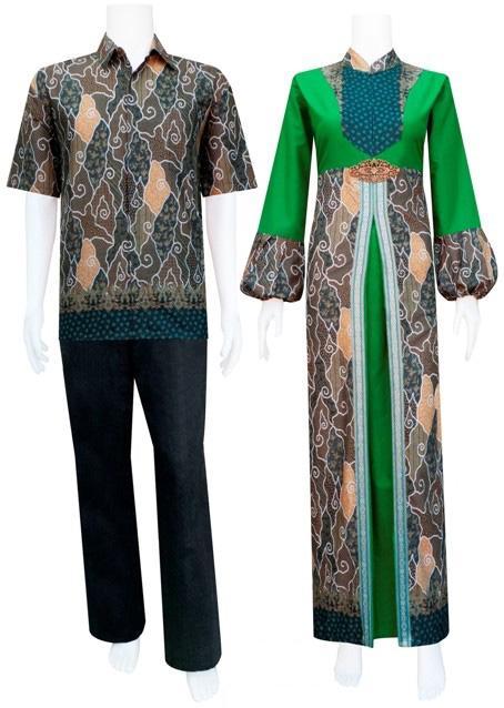 baju batik perempuan busana gamis batik model kerudung baju batik
