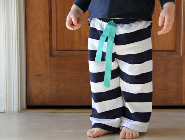 Easiest Baby Pants