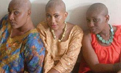 angela okorie shave hair bald