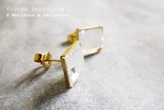 Boucles d'oreilles Viveka Bergstrom