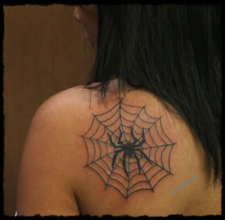 spider web tattoos - spider web tattoos picture