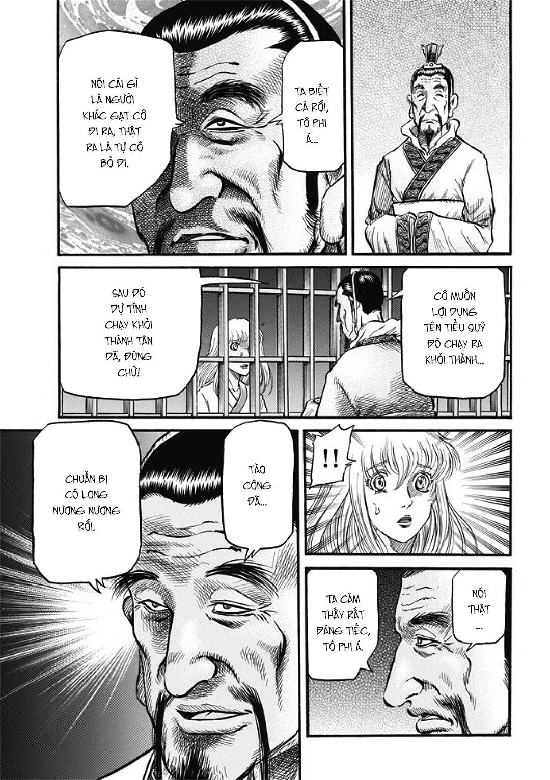Chú bé rồng-Ryuuroden chap 281 Trang 13 - Mangak.info